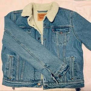 Levi's Original Sherpa Jean Jacket Medium